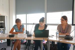 Julie Romoiville, Xenia de Heering, Lucie Daeye